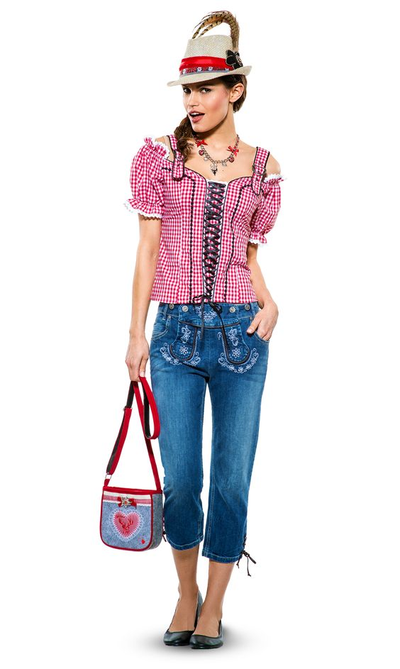 oktoberfest outfit damen mit jeans sch ne jeansmodelle. Black Bedroom Furniture Sets. Home Design Ideas