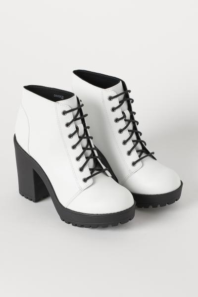Platform Ankle Boots Sepatu Bot Wanita Model Sepatu Sepatu Wanita