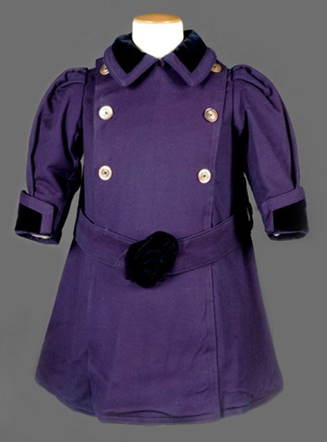1900-1910 Purple coat