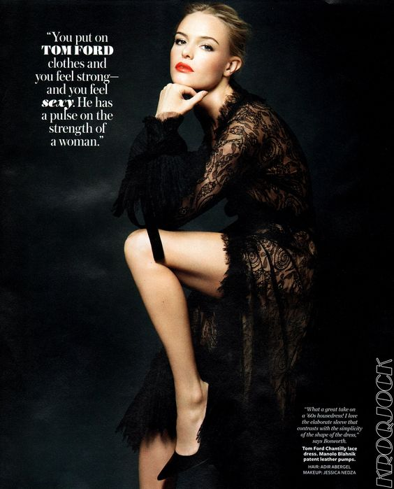 More from the Tom Ford collection, InStyle November 2011