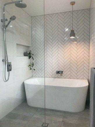 Beautiful Bathroom Shower Remodel Ideas 00020 2019 Beautiful Bathroom Shower Remodel Idea Modern Bathroom Renovations Modern Bathroom Bathroom Remodel Shower