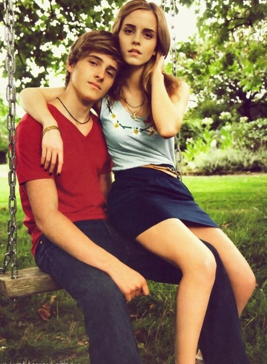 Hottest brother and sister | Alex and Emma Watson ...
