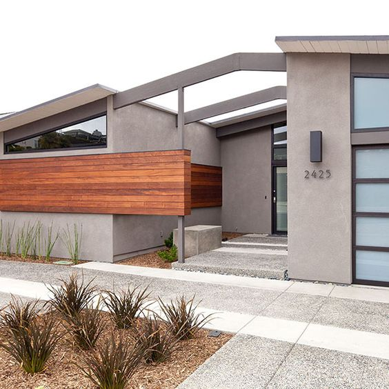 Modern Homes Exterior Designs Ideas: Stucco Exterior, San Diego And Black Trim On Pinterest