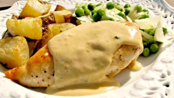 Pollo a la Crema de Estragón