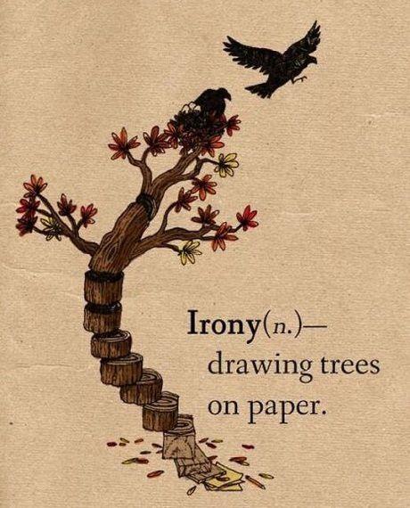 #frase triste ironía :'(