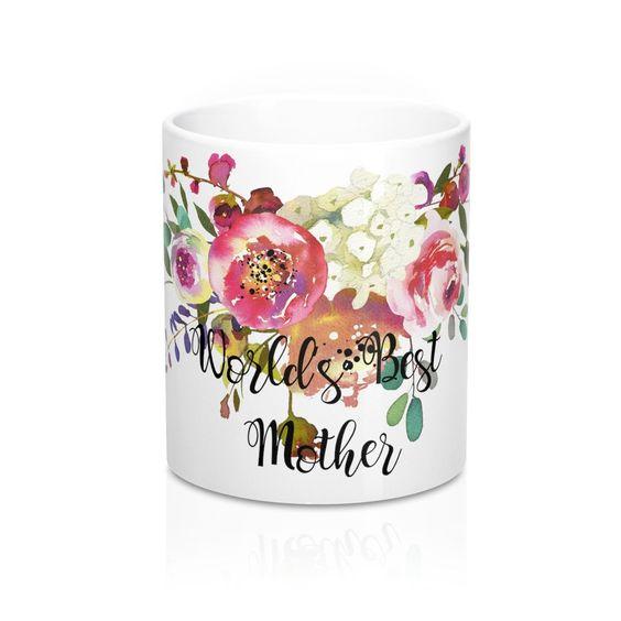 World's Best Mother Coffee Mugs 11 oz 15 oz Ceramic – BlueMorningExpressions