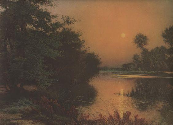 Albert-Gabriel Rigolot (1862-1932), Les étangs de Revery.