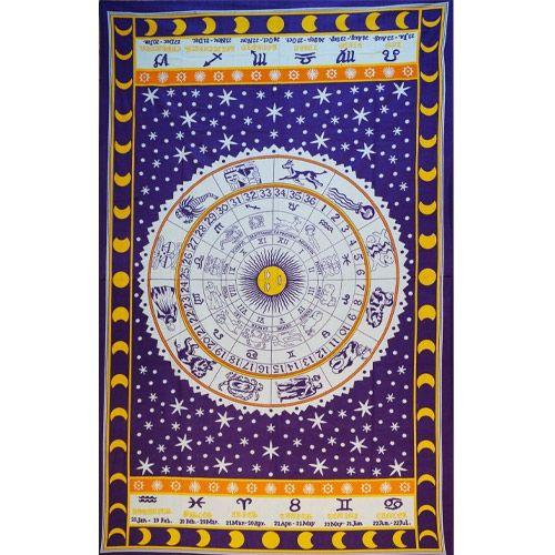 Tenture Horoscope (Violet)