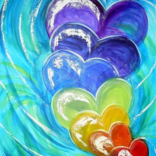 Hearts Decree At The Gates Wait For Me By Descendant Moja Strona Heart Art Projects Heart Painting Heart Art
