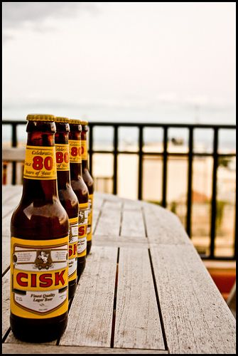 Cisk - a great Maltese drink. Malta Direct will help you plan your trip!