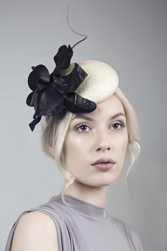 Bibi mini chapeau chapeau de Cocktail fleur par MaggieMowbrayHats