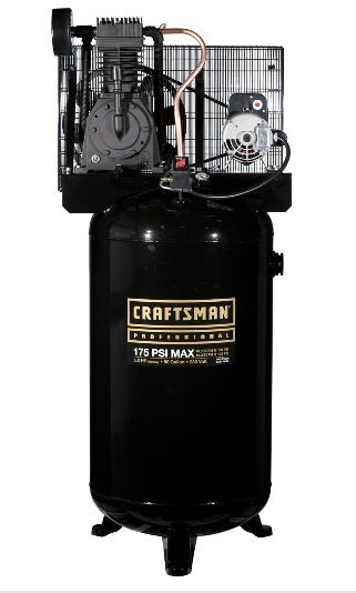 Craftsman Professional 80 gallon 2 stage air compressor