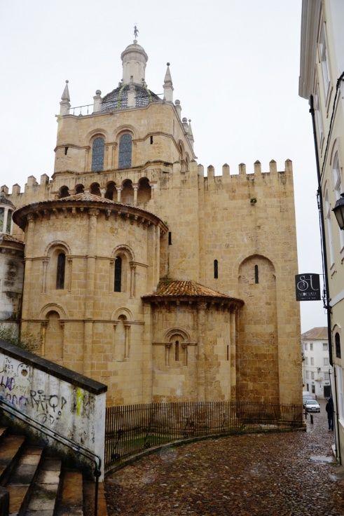 Coimbra, Portugal. Castle