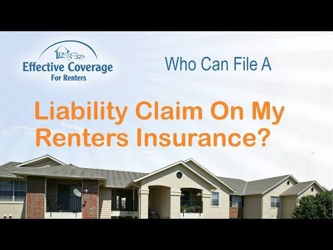 File A Renter S Insurance Claim Renters Insurance State Farm