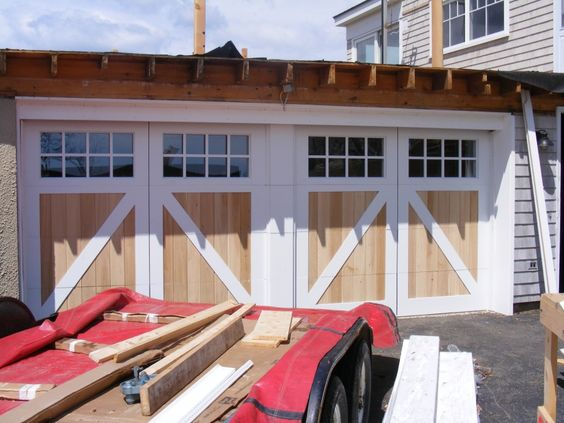 Pinterest the world s catalog of ideas for How wide is a double car garage door