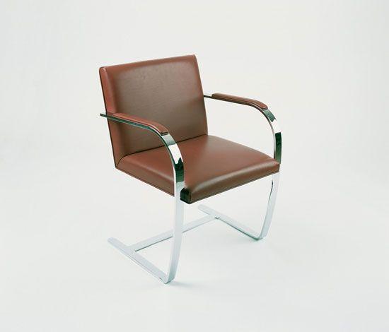 Flat bar brno chair mies van de rohe brno armchair brno chair chair
