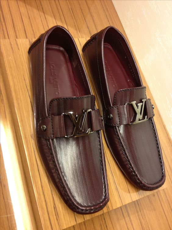 Sweet New Louis Vuitton Loafer Monte Carlo In A Rich Red