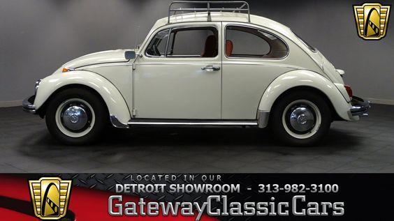 ebay volkswagen beetle new 1969 volkswagen beetle 5410 miles cream rh pinterest com VW Thing 1975 VW Beetle