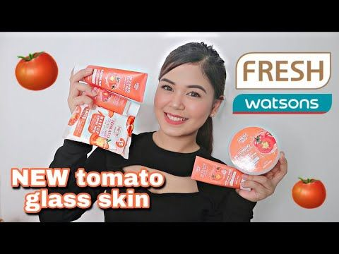 Best Skincare Products For Acne Prone Sensitive Skin Tomato Glass Skin Youtube Glass Skin Best Skincare Products Skin Lotion