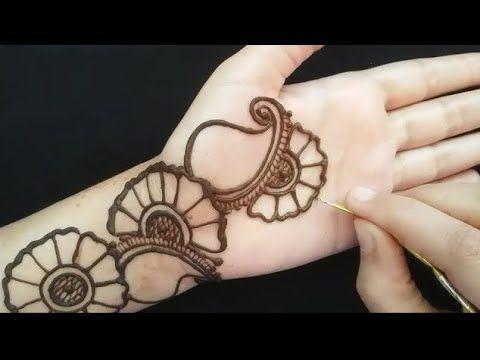 Arabic mehndi design / latest simple mehandi design