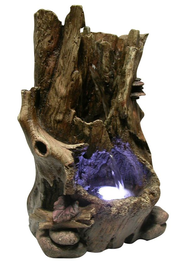 Underwater Water Features And Logs On Pinterest