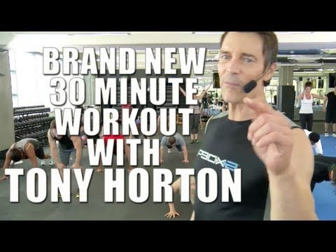 ▶ Free workout with Tony Horton creator of P90X, P90X2 and 10 Minute Trainer - Beachbody LIVE - YouTube