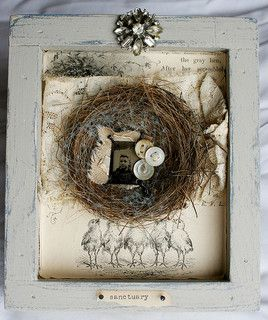 Shadowbox collage--Sanctuary | Flickr - Photo Sharing!