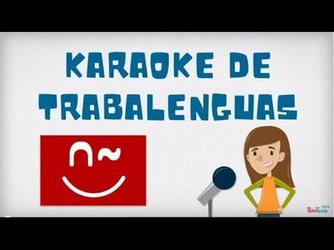 ▶ Karaoke de trabalenguas - ProfeDeELE.es - YouTube Para usar en repaso A1 y en el primer día de A2