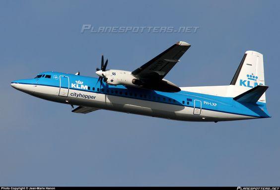 PH-LXP KLM Cityhopper Fokker F50