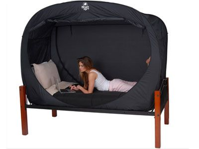Bed Tent :) How cool is this?
