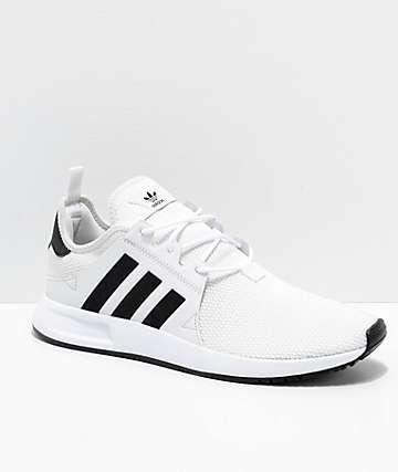 adidas Xplorer White \u0026 Black Shoes