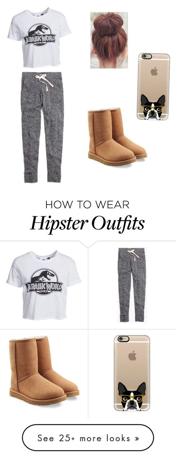 """""""Casual day"""" by dancer-ava6 on Polyvore featuring Madewell, New Look, UGG Australia and Casetify"""