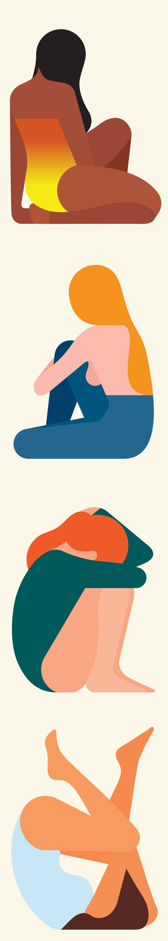 Gorgeous clean & bold shapes from illustrator Rob Bailey - https://robbailey.studio/: