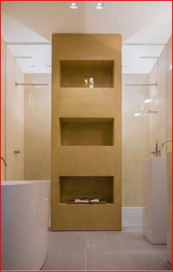 achter de kast douchen