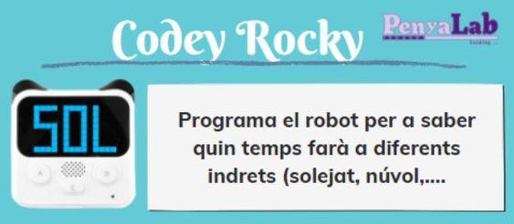 CODEY ROCKY – Quin temps fa a…?