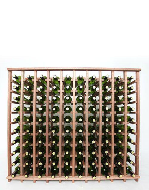 Wineracks Com Premium Series 10 Column Base Wine Rack Ten Column Base Wine Rack Holds 100 Bottles Of Wine Dimensions 45 3 Wine Rack Wine Cellar Racks Wine