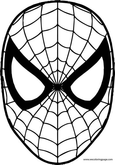 Updated 100 Spiderman Coloring Pages September 2020 In 2020 Spiderman Coloring Spiderman Mask Coloring Mask