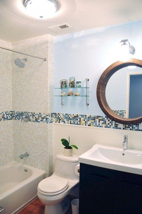 Bathroom Glass Tile Design Ideas Mosaic Bathroom Mosaic