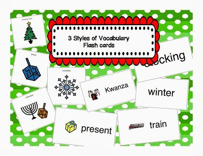 December Vocabulary Bundle!