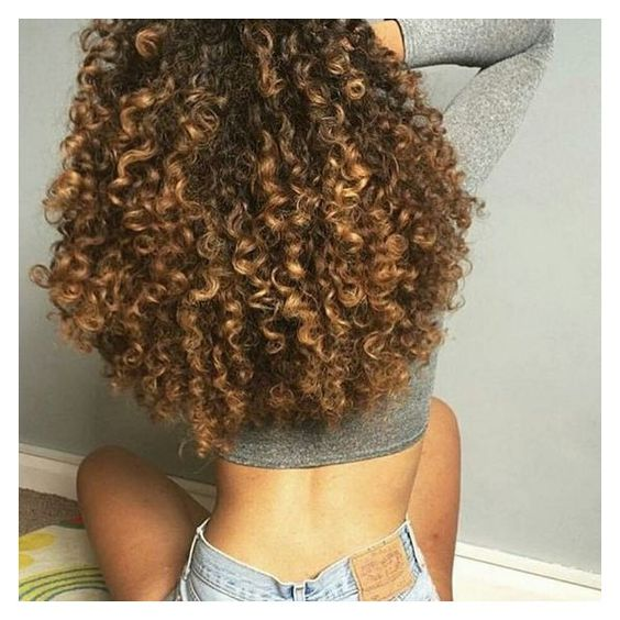 Love the volume. you can tell the ends of her hair are healthy. ❤ liked on Polyvore featuring beauty products and haircare