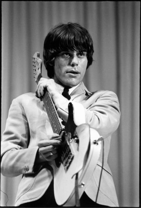 Jeff Beck, the Tele he gave Page