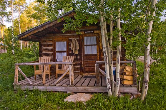 columbine cabins - steamboat springs colorado. my mom, my kids and i used to vacation here every summer.  great memories.