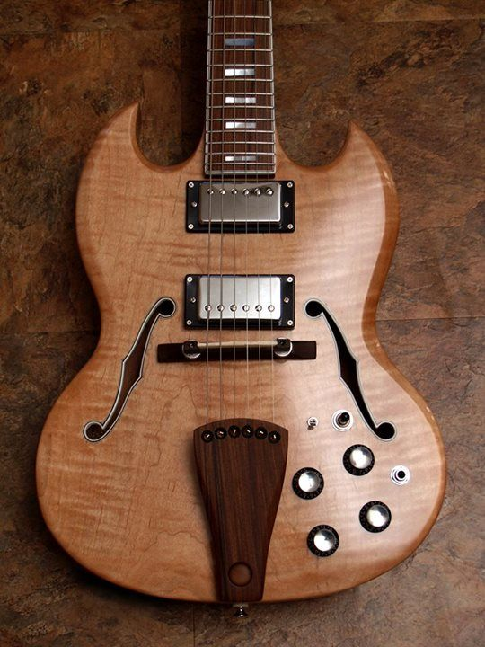 Highline Guitars Archtop Hollowby SG-style