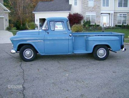8 500 1955 chevy pickup big rear window for sale in columbus chevy truck project. Black Bedroom Furniture Sets. Home Design Ideas
