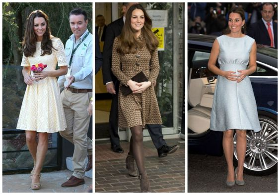4. A-line dress + neutral accessories.