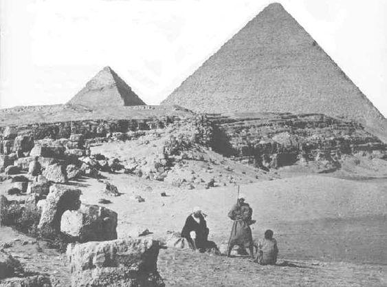Pyramids - egypt 1862