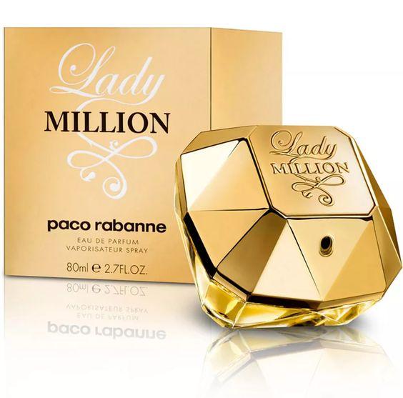 Paco Rabanne - Lady Million - eau de parfum, paco rabanne million, lady million, perfume million, one million