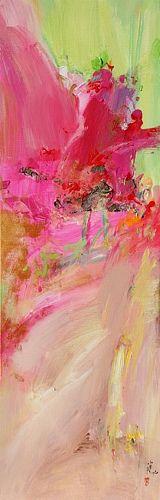 """Xiaoyang Galas Abstract Art  titled:  """"une vie""""    Kunst Abstraktes Gefühle: Freude Gegenwartskunst"""