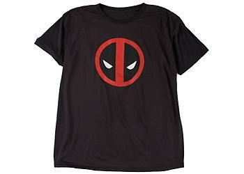 Show off your superhero style in this Marvel T-Shirt. Tee features a Deadpool character design.