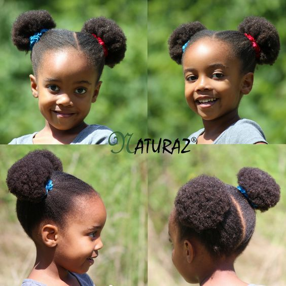 10 Cute Back To School Natural Hairstyles For African American Kids Toddler Hairstyles Girl Girls Natural Hairstyles Toddler Hair